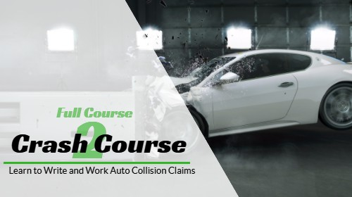 Crash Course 2 – Auto Damage Appraiser Training