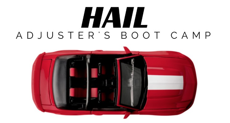 Online Adjuster Training for Independent Auto Hail Adjuster's