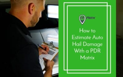 How to Estimate Auto Hail Damage With a PDR Matrix