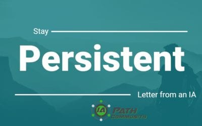 Stay Persistent – An Inspiring Letter From an Aspiring Independent Adjuster