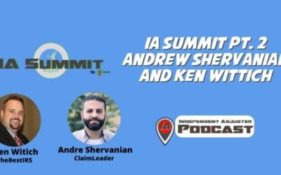 IA 122: IA Summit Pt. 2 Andre Shervanian and Ken Wittich