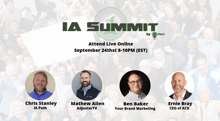 IA Summit 9/24/19 Replay (Online Conference)