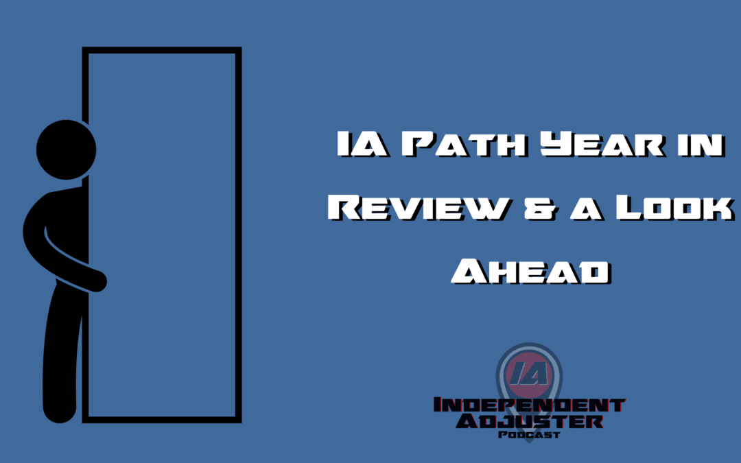 IA 154: IA Path Year in Review and Look Ahead