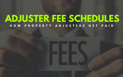 Understanding Independent Adjuster Fee Schedules: A Guide